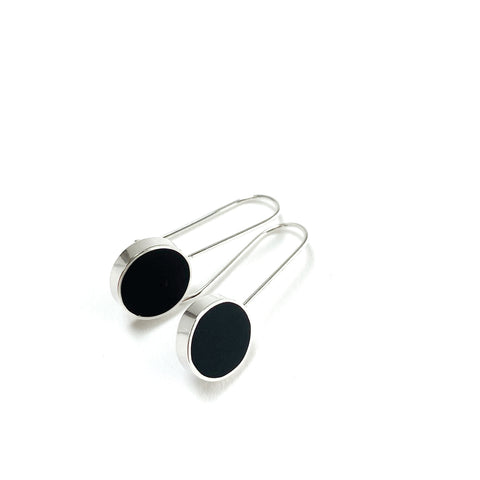 Don't Stop Earrings black
