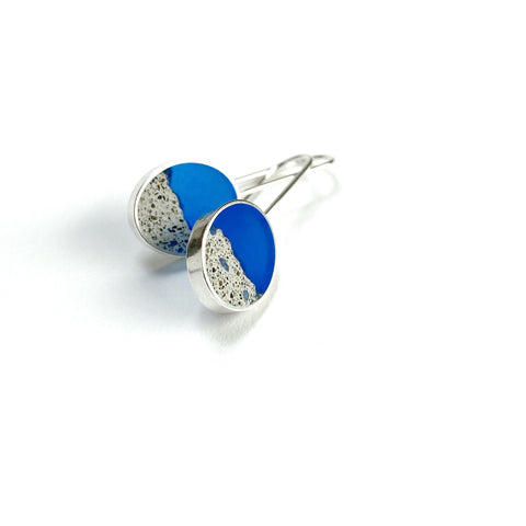 Terrain Earrings blue