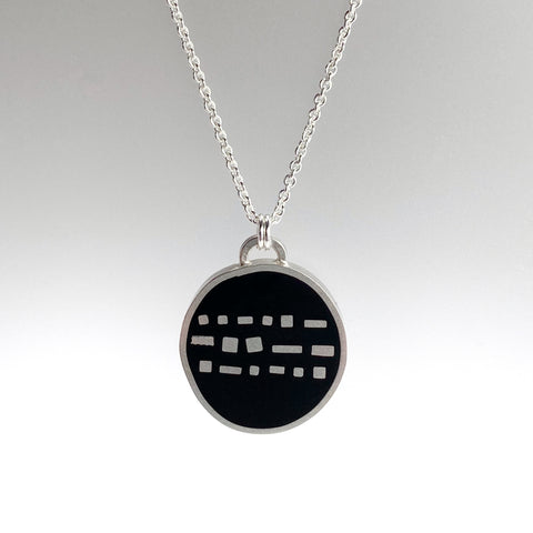 Cobble Necklace black