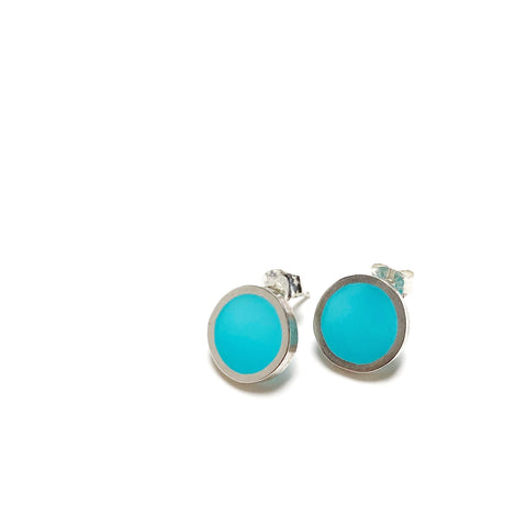 On the Spot Post Earrings scuba blue