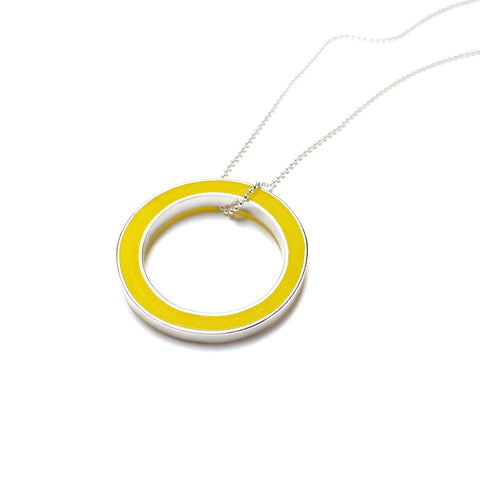 It's Okay Necklace yellow