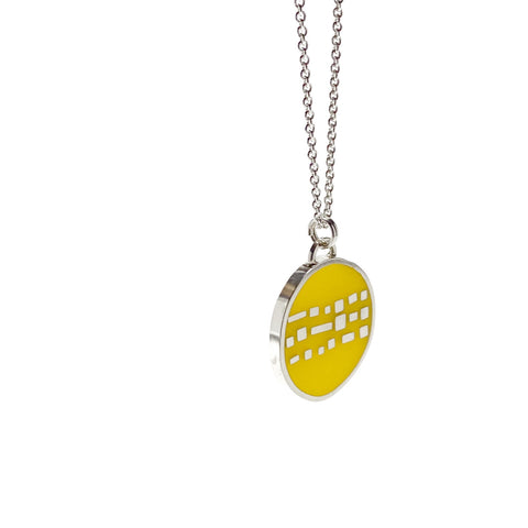 Cobble Necklace yellow