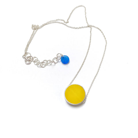 Don't Necklace yellow