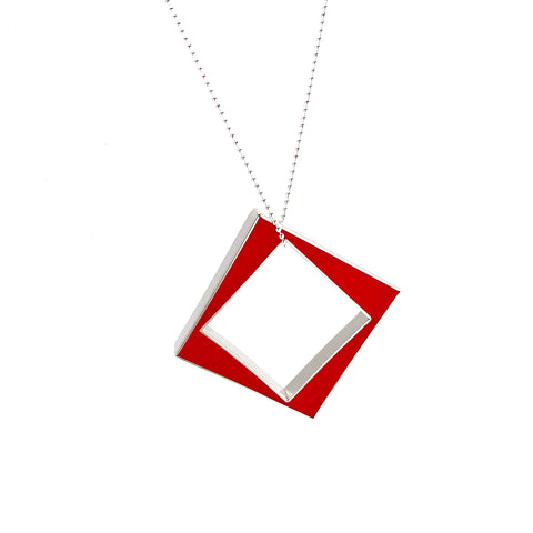 Panic Necklace red