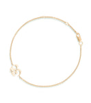 Petite Om Bracelet Single Diamond Gold