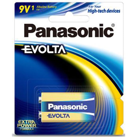 Panasonic Evolta 9V Alkaline Battery - 1 Pack