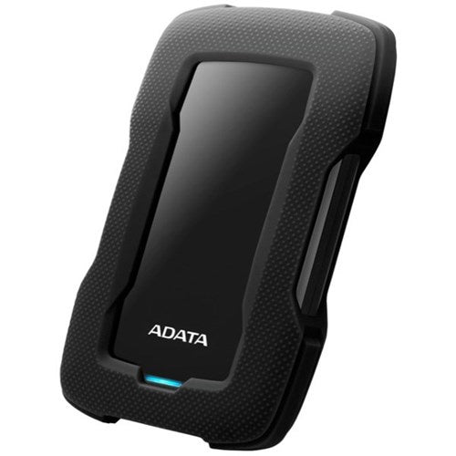 ADATA HD330 Durable USB3.1 External HDD Black - 1TB