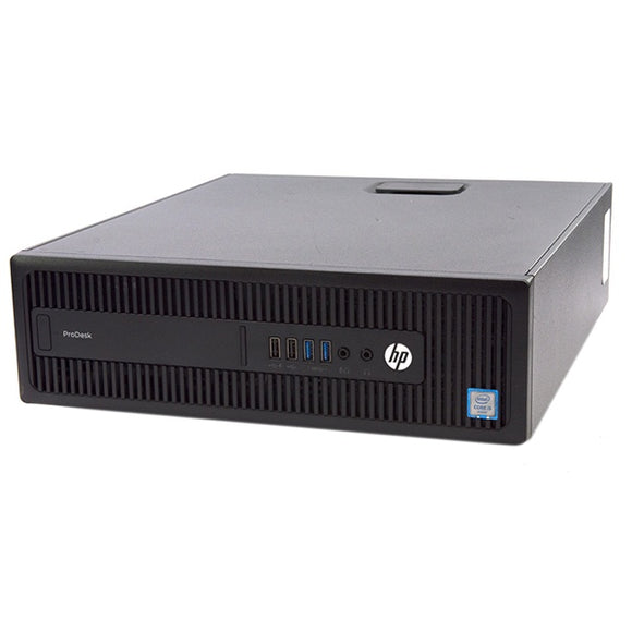 Ex-Lease HP ProDesk 600 G2 SFF Desktop PC - 256GB