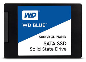 "Western Digital Blue 500GB 2.5"" SATA SSD"