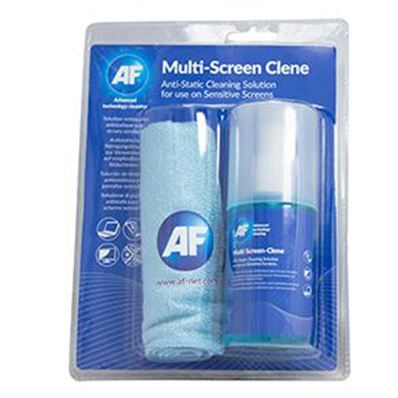 AF 200ml Screen-Clene + Large Microfibre Cloth