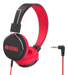 Verbatim Urban Sound Kids Headphones - Red/Black