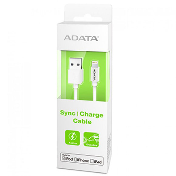 Adata Lightning Cable - 1m White