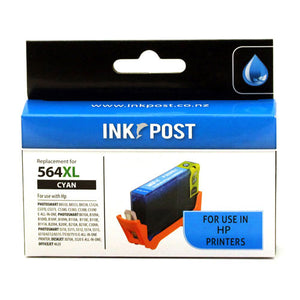 INKPOST for HP Ink CB323 564XL Cyan