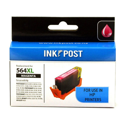 INKPOST for HP Ink CB324 564XL Magenta