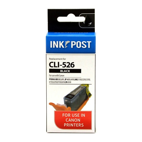 INKPOST for Canon Ink CLI526 Black