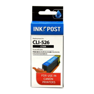 INKPOST for Canon Ink CLI526 Cyan