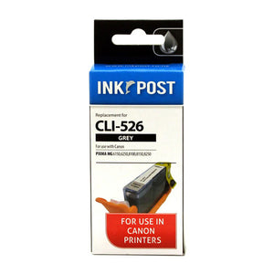 INKPOST for Canon Ink CLI526 Grey