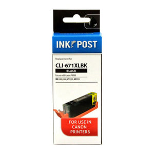INKPOST for Canon CLI671XL Black Ink Cartridge