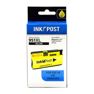 INKPOST for HP Ink CN048 951XL Yellow