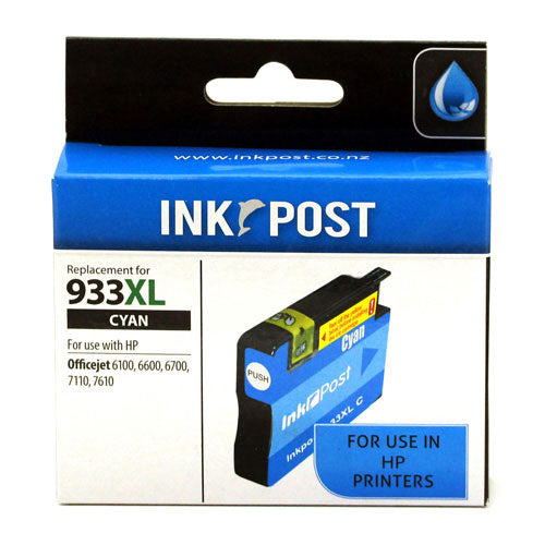 INKPOST for HP Ink CN054 933XL Cyan