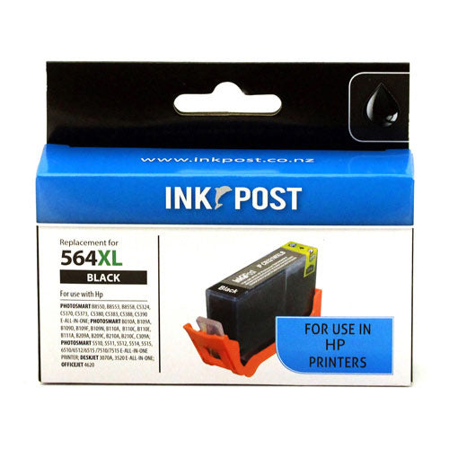 INKPOST for HP Ink CN684 564XL Black