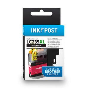 INKPOST for BROTHER LC235XL MAGENTA