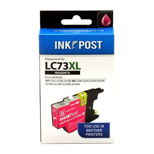 INKPOST for Brother Ink LC73 Magenta