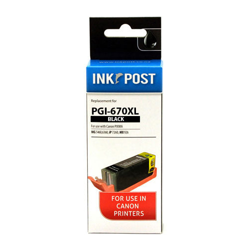 INKPOST for Canon PGI-670XL Black Ink Cartridge