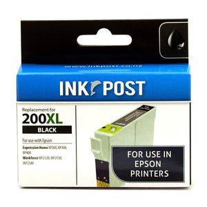 INKPOST for Epson T201192 200XL Black Ink
