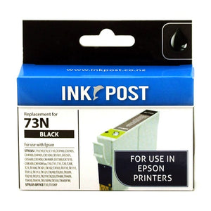 INKPOST for Epson Ink 73N Black