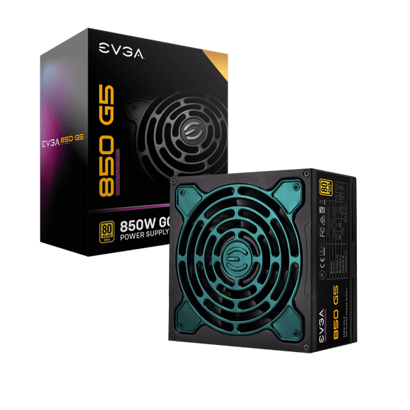 EVGA SuperNOVA 850W G5 80+ Gold Full Modular Power Supply
