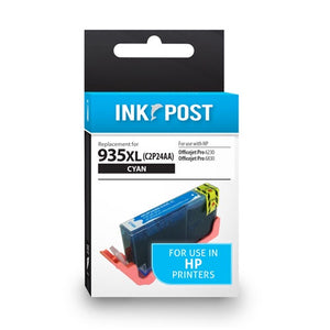 INKPOST for HP 935XL Cyan