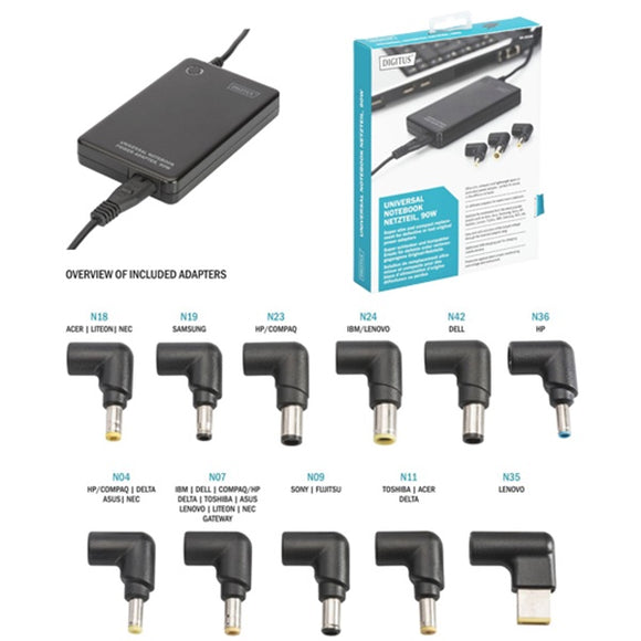 Digitus 90W Universal Notebook Power Adapter