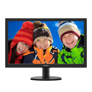 "Ex-Lease Philips 243V5Q 23.6"" LED Monitor"