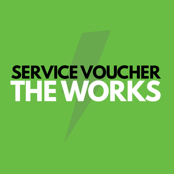 Prepaid Service Voucher - The Works