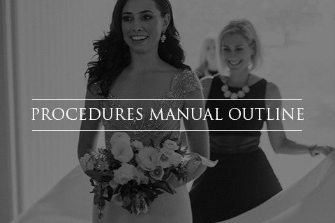 Procedures Manual Outline