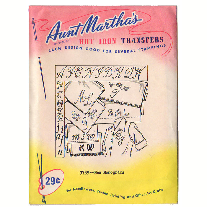 You Choose Aunt Martha/'s Hot Iron Transfer Patterns Uncut