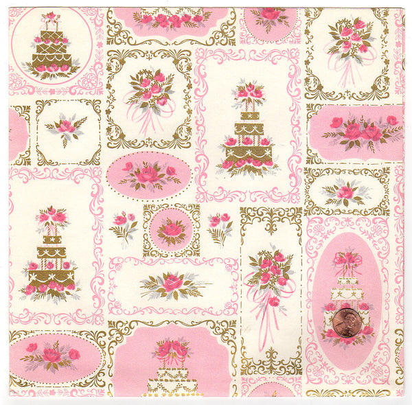 Wedding Gift Paper: Vintage Collectibles