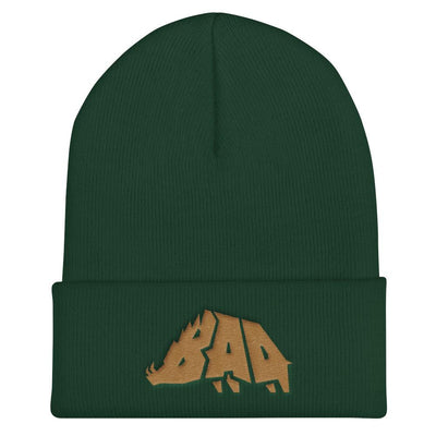 Hat - B.A.D. Boar - Beanie - Pineywood