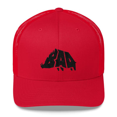 Hat - B.A.D. Boar - Mesh Hat - Blood Red