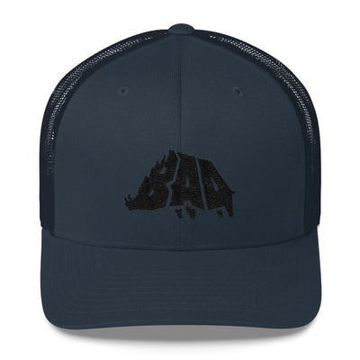 Hat - B.A.D. Boar - Mesh Hat - Midnight Hunt
