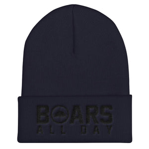 Hat - Boar In The Crosshairs - Beanie - Midnight Hunt