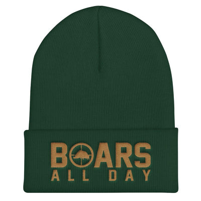 Hat - Boar In The Crosshairs - Beanie - Pineywoods
