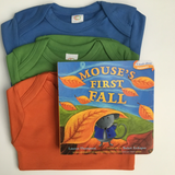 Books and Bodysuits Gift Set: Mouse's First Fall