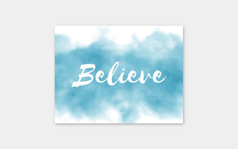 Believe Note Cards