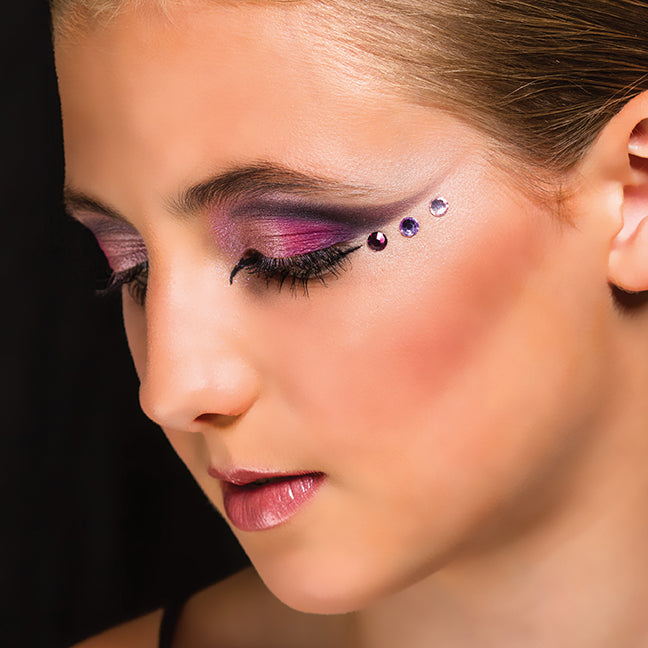 PURPLE RHINESTONE-Yofi Cosmetics