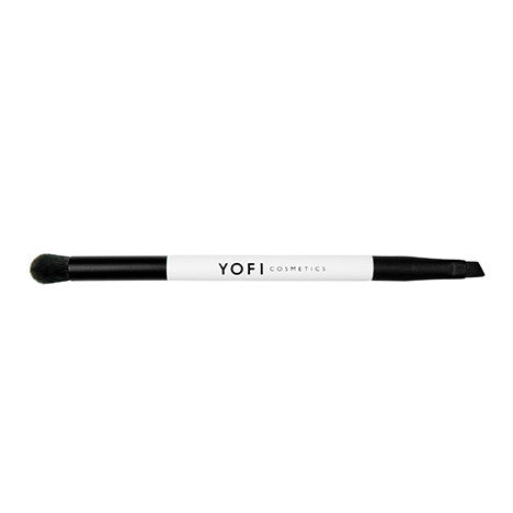 Dual End Crease and Angled Liner Makeup Brush-Yofi Cosmetics