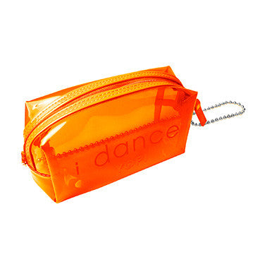i dance makeup bag neon orange-Yofi Cosmetics