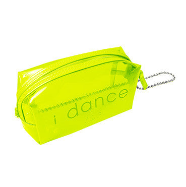 i dance makeup bag neon yellow-Yofi Cosmetics