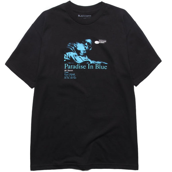 BLACKSMITH PARADISE IN BLUE T - GREY